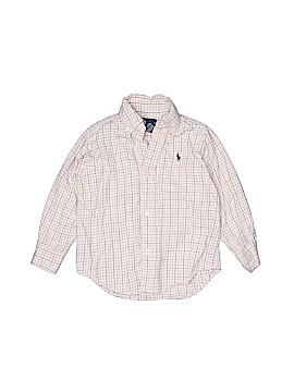 Ralph Lauren Long Sleeve Button-Down Shirt Size 3T - 3