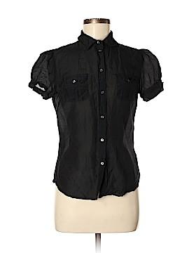 Gap Short Sleeve Button-Down Shirt Size 8