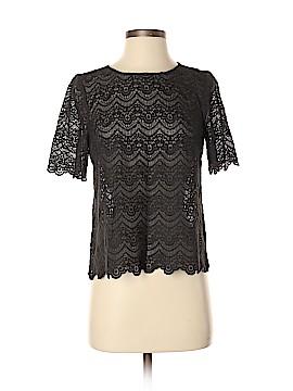 J. Crew Factory Store Short Sleeve Blouse Size XS