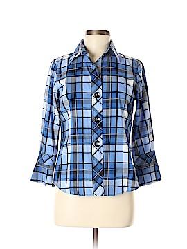 Pendleton Long Sleeve Button-Down Shirt Size 6 (Petite)