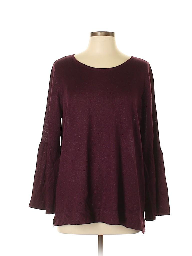 Calvin Klein Women Pullover Sweater Size 0X (Plus)
