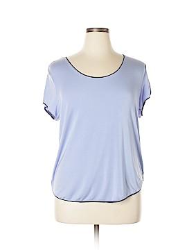 DKNY Short Sleeve T-Shirt Size 2X (Plus)