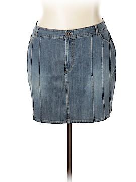 Route 66 Denim Skirt Size 22 (Plus)