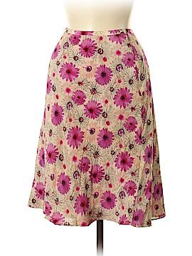 Ann Taylor LOFT Silk Skirt Size 6