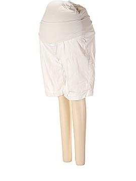 A Pea in the Pod Khaki Shorts Size L (Maternity)