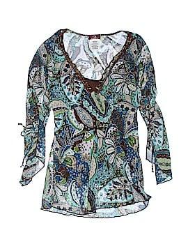 Jordache 3/4 Sleeve Blouse Size S