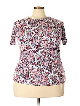 Talbots Short Sleeve Top Size 1X (Plus)