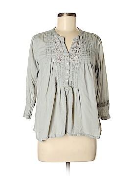 H&M L.O.G.G. 3/4 Sleeve Button-Down Shirt Size 8