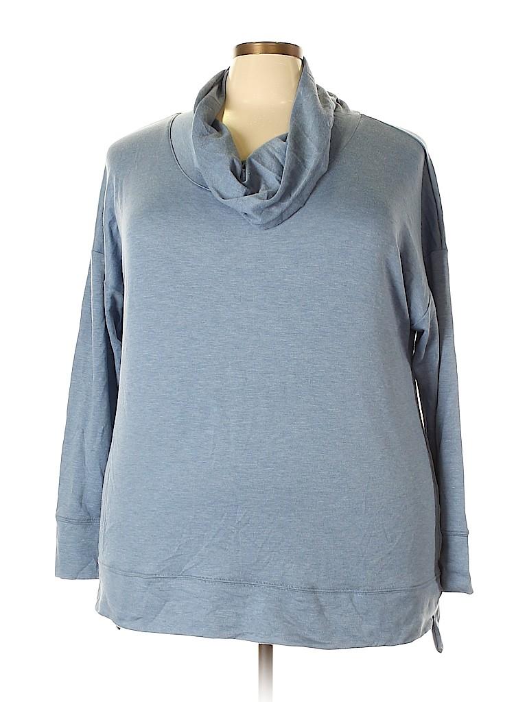 Ideology Women Sweatshirt Size 2X (Plus)