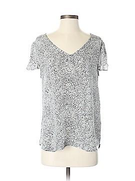 Joie Short Sleeve Silk Top Size S