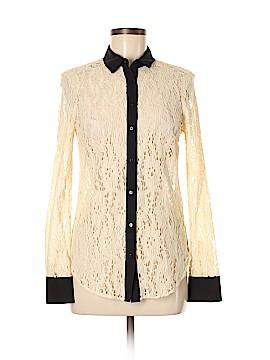 Vanessa Virginia Long Sleeve Blouse Size 0