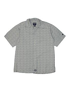 Nautica Short Sleeve Button-Down Shirt Size 8 - 10