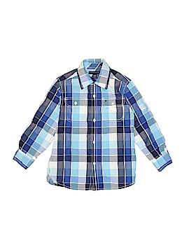 Tommy Hilfiger Short Sleeve Button-Down Shirt Size 4 - 5