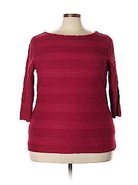 St. John Short Sleeve Top Size 2X (Plus)