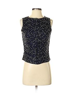 Adrianna Papell Sleeveless Silk Top Size 6