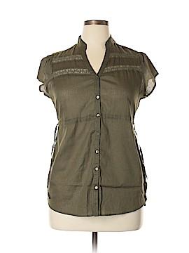 Decree Short Sleeve Button-Down Shirt Size XL