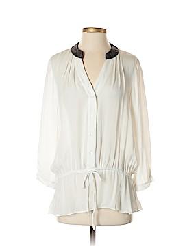 Atelier 3/4 Sleeve Silk Top Size S