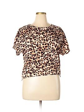 Vila Short Sleeve Blouse Size L