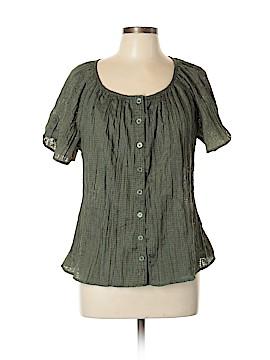 Cj Banks Short Sleeve Blouse Size XL