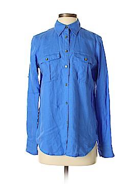 Lauren by Ralph Lauren Long Sleeve Button-Down Shirt Size S