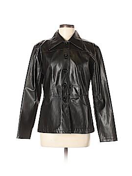 Ashley by 26 International Faux Leather Jacket Size M