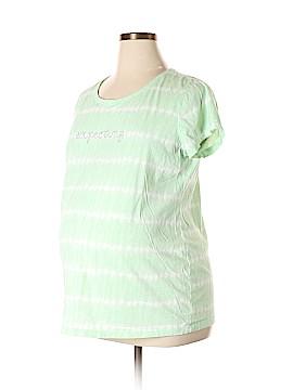 Oh Baby By Motherhood Short Sleeve T-Shirt Size XL (Maternity)