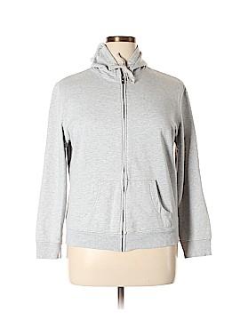 New York & Company Zip Up Hoodie Size XL