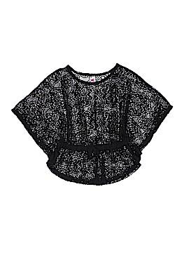 Beautees Short Sleeve Blouse Size X-Large (Youth)