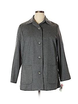 Preston & York Wool Coat Size 14