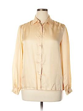 Spiegel Long Sleeve Silk Top Size 18 (Plus)