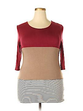 Caralase 3/4 Sleeve Top Size XL