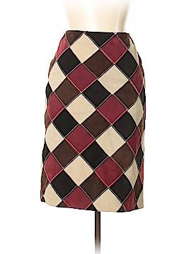 Michael Hoban Leather Skirt Size 10