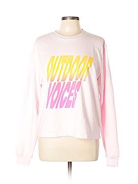 Outdoor Voices Sweatshirt Size XL