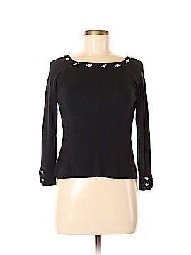 Joseph A. Silk Pullover Sweater Size M
