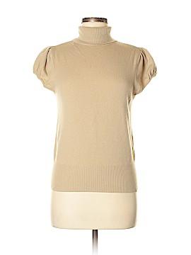 David Meister Short Sleeve Turtleneck Size M