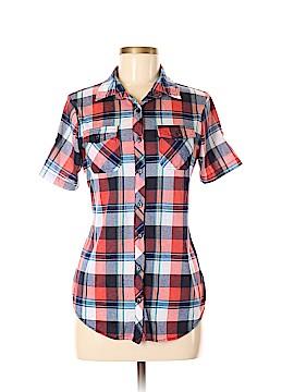 Bella D Short Sleeve Blouse Size M