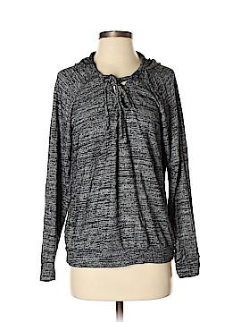 Velvet Pullover Hoodie Size M