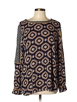 Joan Vass New York Long Sleeve Blouse Size XL