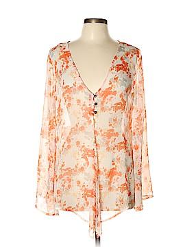 Hang Ten Long Sleeve Blouse Size XL