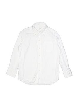 Gap Kids Long Sleeve Button-Down Shirt Size 6
