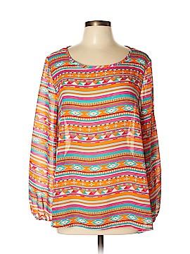 Moa Moa Long Sleeve Blouse Size XL