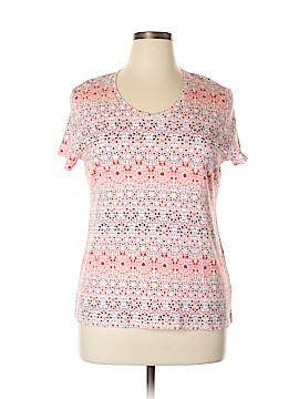 Croft & Barrow Short Sleeve Top Size XXL