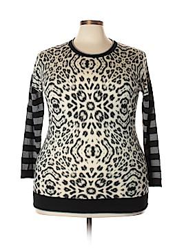 Basler Wool Pullover Sweater Size 50 (EU) (Plus)