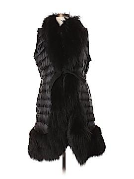 Moncler Faux Fur Vest Size Med (2)