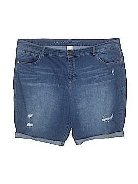 Ava & Viv Denim Shorts Size 26 (Plus)