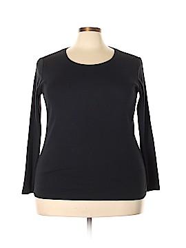 Eddie Bauer Long Sleeve T-Shirt Size 2X (Plus)