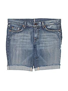 7 For All Mankind Denim Shorts 31 Waist