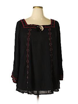 Jessica Simpson 3/4 Sleeve Blouse Size 2X (Plus)