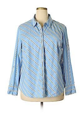 Lane Bryant Long Sleeve Button-Down Shirt Size 20 (Plus)