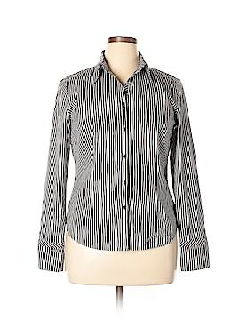 Ann Taylor LOFT Long Sleeve Button-Down Shirt Size 14